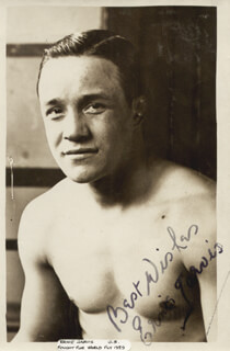 ERNIE JARVIS - AUTOGRAPHED SIGNED PHOTOGRAPH