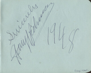 HARRY RICHMAN - AUTOGRAPH 1948 CO-SIGNED BY: CLIFFORD MOLLISON, HUGH LATIMER