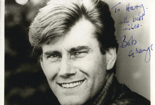 BOB (ROBERT) GRANGE - AUTOGRAPHED INSCRIBED PHOTOGRAPH
