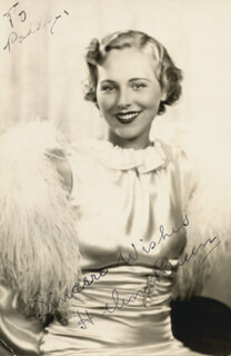 HELEN BREEN - AUTOGRAPHED INSCRIBED PHOTOGRAPH