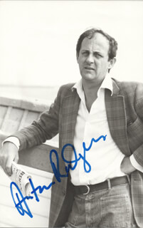 ANTON RODGERS - AUTOGRAPHED SIGNED PHOTOGRAPH
