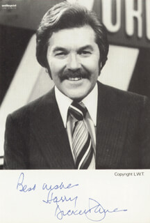 DICKIE DAVIES - AUTOGRAPHED SIGNED PHOTOGRAPH