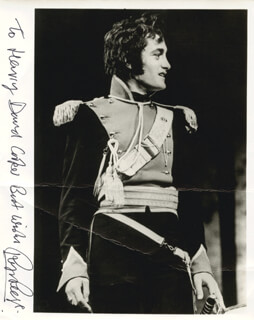ROGER REES - AUTOGRAPHED INSCRIBED PHOTOGRAPH