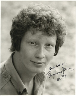 STEPHEN JENN - AUTOGRAPHED SIGNED PHOTOGRAPH CIRCA 1978