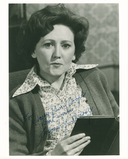 CARMEL McSHARRY - AUTOGRAPHED INSCRIBED PHOTOGRAPH