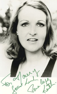 PENELOPE KEITH - AUTOGRAPHED INSCRIBED PHOTOGRAPH