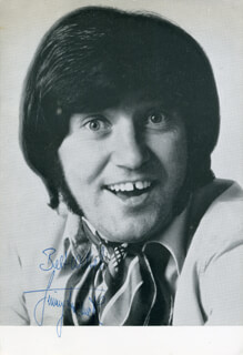 JIMMY TARBUCK - AUTOGRAPHED SIGNED PHOTOGRAPH