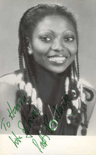 PATTI BOULAYE - AUTOGRAPHED INSCRIBED PHOTOGRAPH