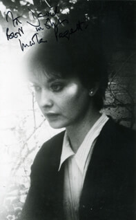 NICOLA PAGETT - AUTOGRAPHED INSCRIBED PHOTOGRAPH