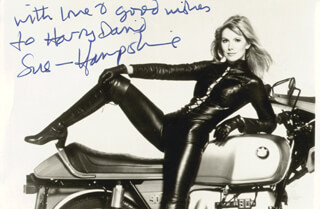 SUSAN HAMPSHIRE - AUTOGRAPHED INSCRIBED PHOTOGRAPH