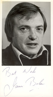 JAMES BOLAM - AUTOGRAPHED SIGNED PHOTOGRAPH
