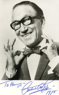 ARTHUR ASKEY - AUTOGRAPHED INSCRIBED PHOTOGRAPH 1978