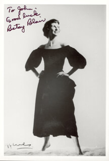 Autographs: BETSY BLAIR - INSCRIBED PHOTOGRAPH SIGNED