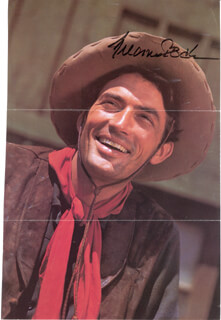 GREGORY PECK - BOOK PHOTOGRAPH SIGNED