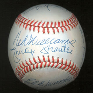 500 Home Run Hitters Memorabilia 144935