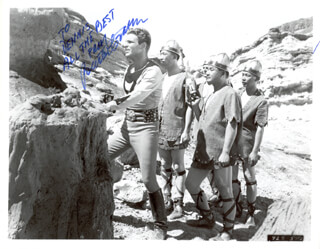 BUSTER CRABBE - AUTOGRAPHED INSCRIBED PHOTOGRAPH