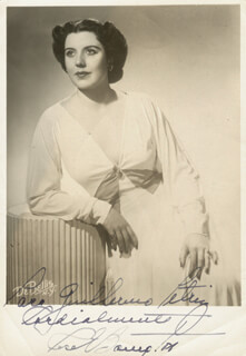 ROSE BAMPTON - AUTOGRAPHED INSCRIBED PHOTOGRAPH