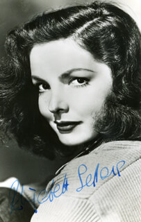 ELIZABETH SELLARS - AUTOGRAPHED SIGNED PHOTOGRAPH