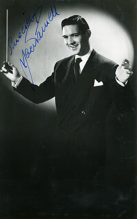 JACK PARNELL - AUTOGRAPHED SIGNED PHOTOGRAPH