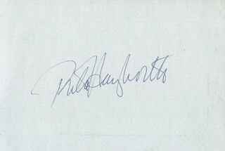 RITA THE LOVE GODDESS HAYWORTH - AUTOGRAPH