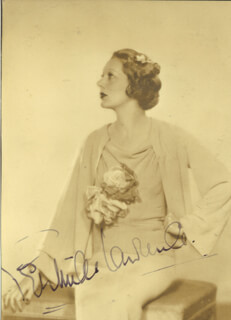 GERTRUDE LAWRENCE - AUTOGRAPHED SIGNED PHOTOGRAPH