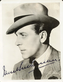 JACK BUCHANAN - AUTOGRAPHED SIGNED PHOTOGRAPH