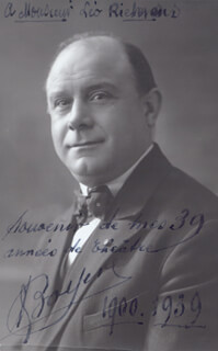 ALEXIS BOYER - AUTOGRAPHED INSCRIBED PHOTOGRAPH 1939