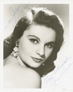 JOANN GRILLO - AUTOGRAPHED INSCRIBED PHOTOGRAPH 1961
