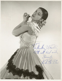 VIOLETTA ELVIN - AUTOGRAPHED INSCRIBED PHOTOGRAPH