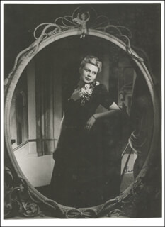 CONSTANCE SHACKLOCK - AUTOGRAPHED SIGNED PHOTOGRAPH