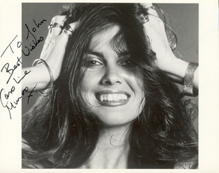 CAROLINE MUNRO - AUTOGRAPHED INSCRIBED PHOTOGRAPH