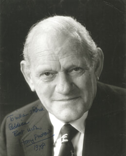 HARRY ANDREWS - AUTOGRAPHED INSCRIBED PHOTOGRAPH 1978