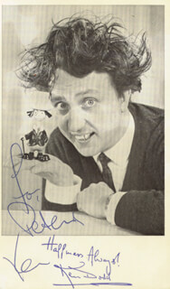 KEN DODD - AUTOGRAPHED INSCRIBED PHOTOGRAPH