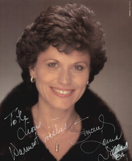 LORNA DALLAS - AUTOGRAPHED INSCRIBED PHOTOGRAPH 1984