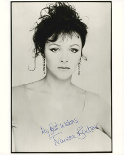 FRANCES BARBER - AUTOGRAPHED SIGNED PHOTOGRAPH
