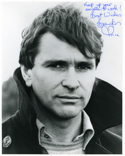 BRENDAN PRICE - AUTOGRAPHED SIGNED PHOTOGRAPH CIRCA 1984