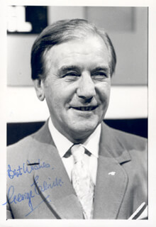 GEORGE ELRICK - AUTOGRAPHED SIGNED PHOTOGRAPH