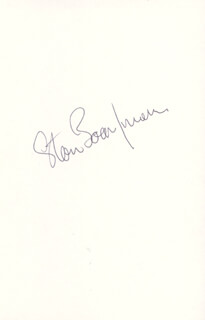 STAN BOARDMAN - PRINTED PHOTOGRAPH SIGNED IN INK