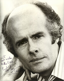 JOHN CLEGG - AUTOGRAPHED INSCRIBED PHOTOGRAPH