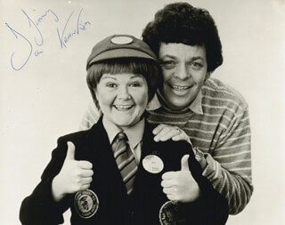 THE KRANKIES - AUTOGRAPHED INSCRIBED PHOTOGRAPH CO-SIGNED BY: IAN TOUGH, JANETTE TOUGH