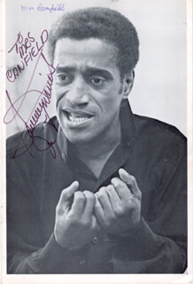 GOLDEN BOY PLAY CAST - INSCRIBED SHOW BILL SIGNED CO-SIGNED BY: HILDA HAYNES, SAMMY DAVIS JR.