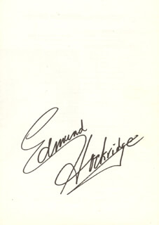 EDMUND HOCKRIDGE - BIOGRAPHY SIGNED