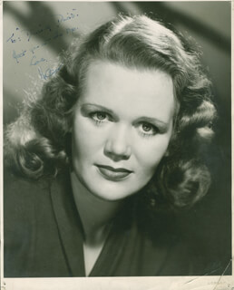 HELEN RUSSELL - AUTOGRAPHED INSCRIBED PHOTOGRAPH