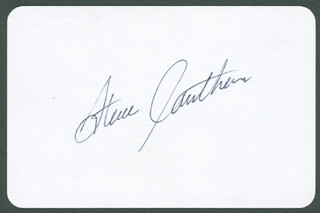 Autographs: STEVE CAUTHEN - PLAYING CARD SIGNED