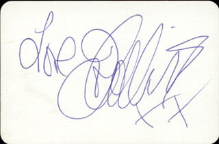 JOAN COLLINS - PLAYING CARD SIGNED