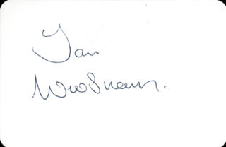 IAN WOOSNAM - PLAYING CARD SIGNED
