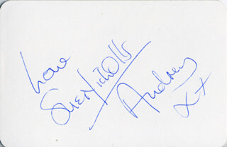 SUE NICHOLLS - PLAYING CARD SIGNED
