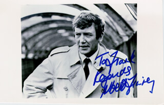 ALBERT FINNEY - AUTOGRAPHED INSCRIBED PHOTOGRAPH