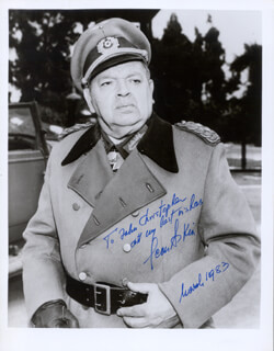 LEON ASKIN - AUTOGRAPHED INSCRIBED PHOTOGRAPH 03/1983