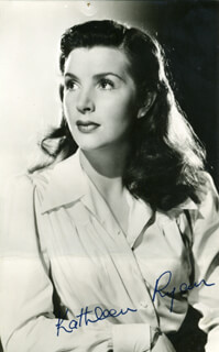 KATHLEEN RYAN - AUTOGRAPHED SIGNED PHOTOGRAPH